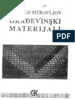 Gradjevinski Materijali-mihailo Muravljov2000
