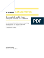 Duden Schülerhilfen - Grammatik 5. Und 6. Klasse (2. Auflage)