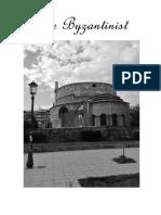 The byzantinist 2015-2