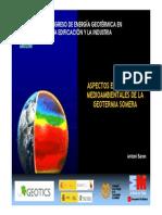 Aspectos Economicos y Medioambientales de La Geotermia Somera