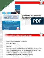 BULLYING, Convivencia, Ley y Reglamento 2014