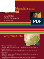 nelson mandela and apartheid