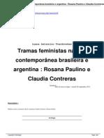 Tramas feministas na arte contemporânea brasileira e argentina