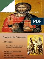 La Catequesis en La Mision de La Iglesia