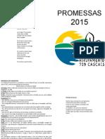 Livro Promessas 2015