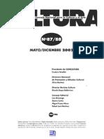 Revista Cultura 87-88