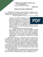 IERARHIILE SPIRITUALE SI REFLECTAREA LOR IN LUMEA FIZICA - Rudolf Steiner.doc