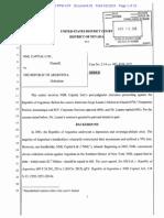 NML vs. Argentina Document 82