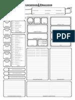 Character Sheet 1