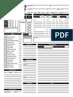 FillableNon Circular Character Sheet 1a