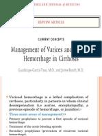 Jurnal Reading Management of Varices and Variceal Hemorrhage in Cirrhosis