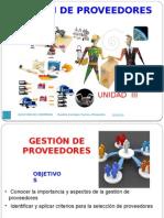 Gestión de Compras - Unidad 3 Danilo Enrique Torres Pimiento 2012-01