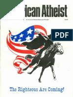 American Atheist Magazine July 1985