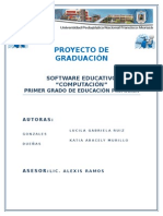 Software Educativo de Computacion