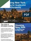 Housing New York