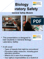 General Lab Safety Module