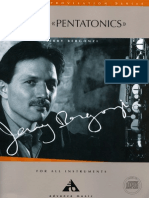 Jerry Bergonzi- Vol 2 - Pentatonics
