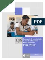 Reporte PISA Grado 12