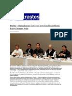 26-01-2015 ContrastesdePuebla,Com - Puebla y Tlaxcala Unen Esfuerzos Por El Medio Ambiente; Rafael Moreno Valle
