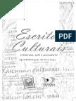 Livro Escritos Culturais, Literatura, Arte Em Movimento