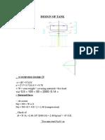 DESIGN OF TANK5.doc