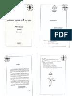 Manual Do Escotista - Atividades Senior 1982