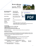 Descriptif Gite 2015-02-16