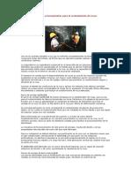 Sistemas y Herramientas Para El Sostenimiento de Rocas