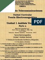 Unidad 1 - Analisis Vectorial A