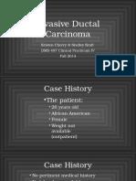 cherry kraft invasive ductal carcinoma
