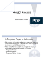 Riesgos Project Finance