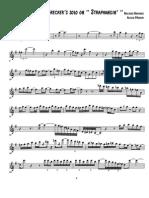 Straphangin Michael Brecker's Solo - Tenor Sax