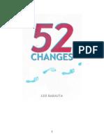 52 Changes - Leo Babauta