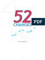 52 Changes - Leo Babauta