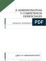 Teoría de pensamiento Administrativo