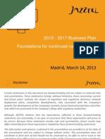 2013-2017 Business Plan Presentation