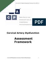 New Cervical Artery Assessment Framework 2[1].0 Dec 05