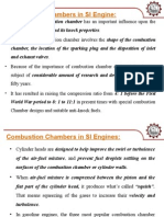 Combustion Chambers in SI Engines