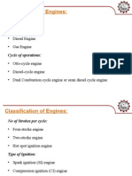Engines Classification and Its Components