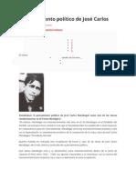 El Pensamiento Político de José Carlos Mariátegui