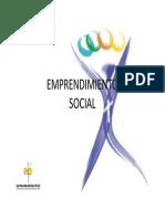 Emprendimiento Social- Nuievo Emprendimiento