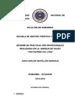 Informe Practicas - Juan Santillan