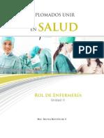 Rol de ENfermeria Quirofano