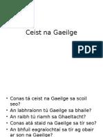 Ceist Na Gaeilge