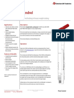 SLRN Lock Mandrel Technical Datasheet