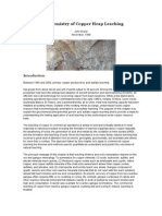 The Chemistry of Copper Heap Leaching