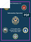 JP 3-13,Information Operations, 2014