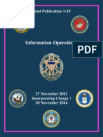 JP 3-13,Information Operations, 2014