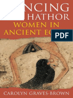 dancing  for hathor