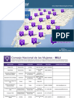 mapa interactivo del consejo nacional de las Mujeres